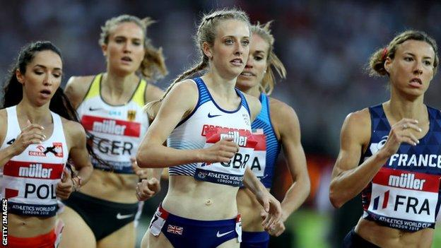 Jemma Reekie had won all five 800m races in 2020 before coming fourth in Switzerland