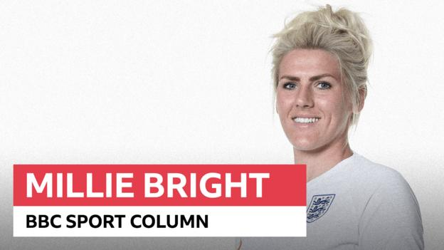 Millie Bright column: How England's 'special aura' can help drive us to success against US
