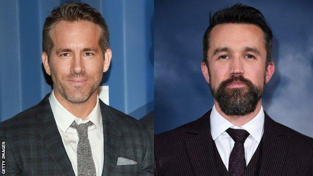 Wrexham's owners-elect Ryan Reynolds and Rob McElhenney