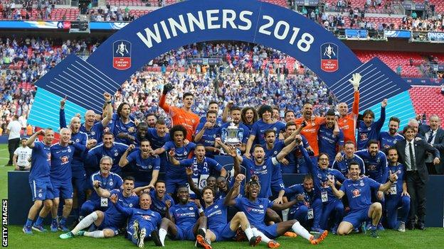 Chelsea, FA Cup winners in 2018