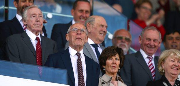 Stoke chairman Peter Coates
