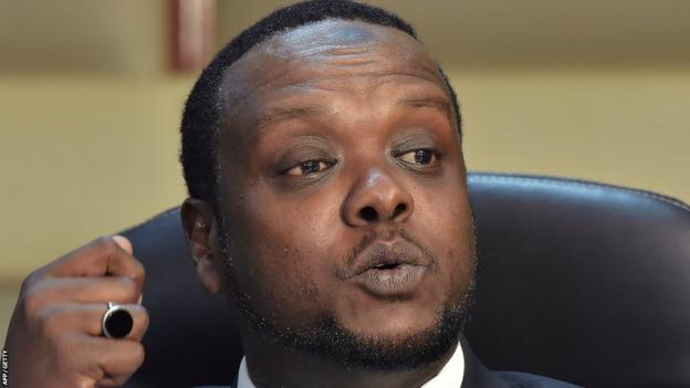 Former Kenyan sports minister Hassan Wario