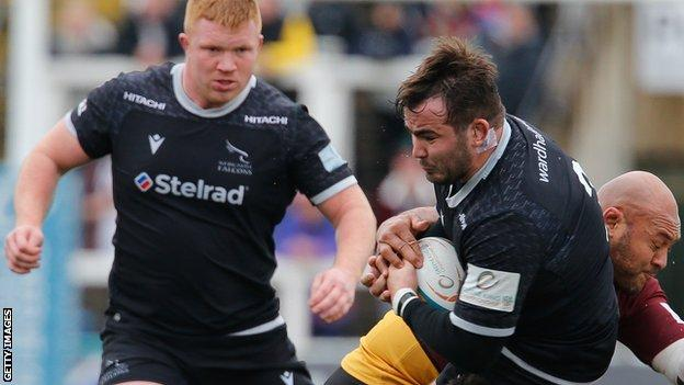 Newcastle Falcons are top of the Championship