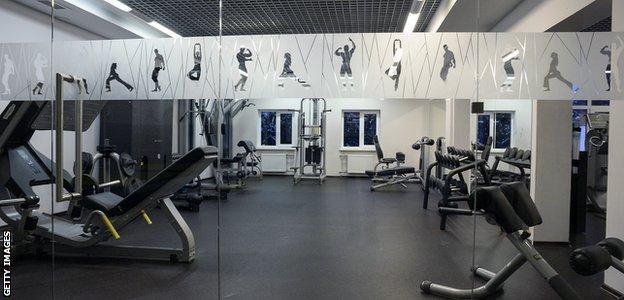 FoRestMix Hotel - gym
