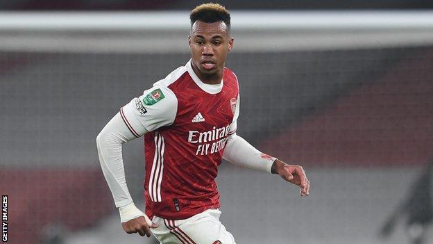 Arsenal defender Gabriel
