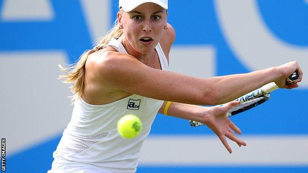 Naomi Broady has been as high as 138 in the world rankings