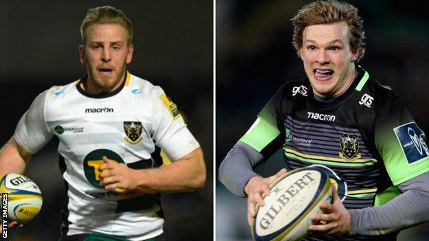 Ben Nutley (left) and Tom Stephenson