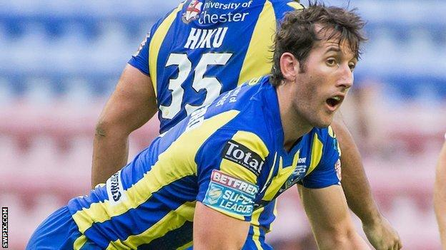 Warrington full-back Stefan Ratchford