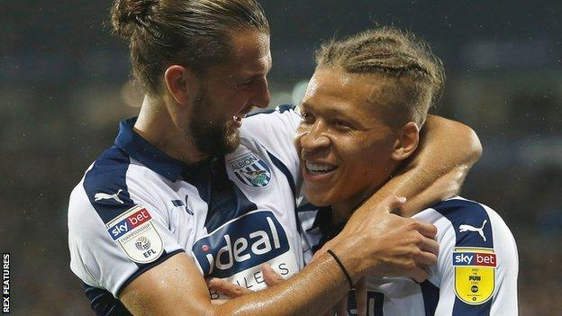 Jay Rodriguez and on-loan Dwight Gayle scored 45 league goals between them last season