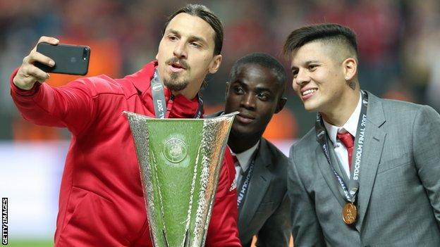 Zlatan Ibrahimovic during the UEFA Europa League Final match between Ajax and Manchester United