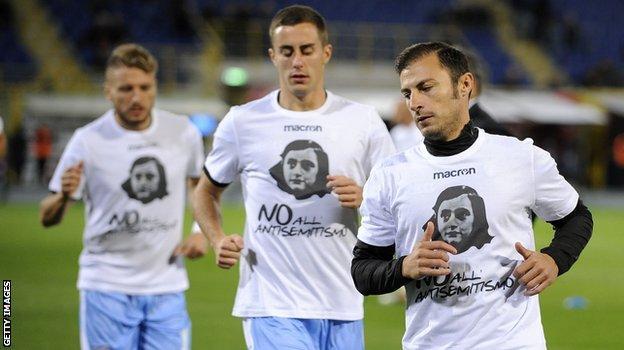 Lazio players