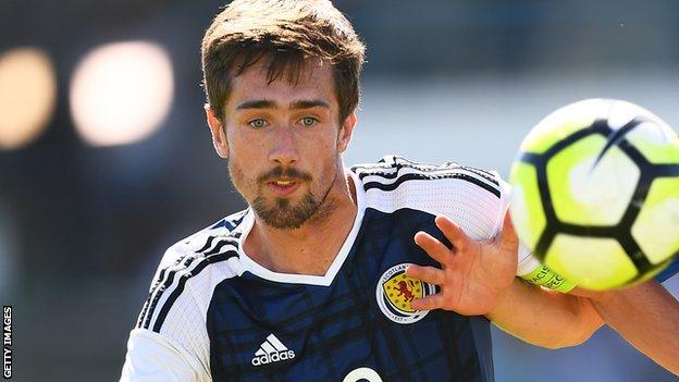 Ryan Hardie plays for Scotland Under 21s