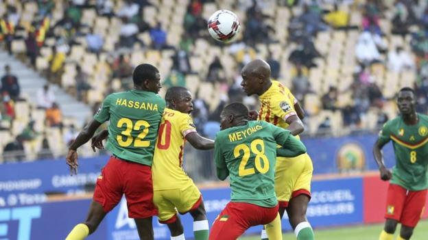 Cameroon and Zimbabwe