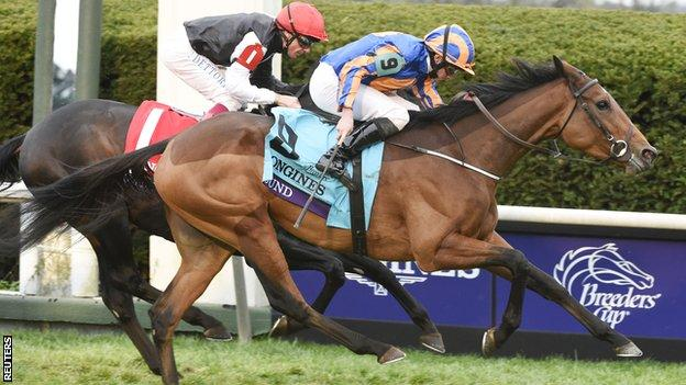 Found beats Golden Horn to claim Breeders' Cup Turf win