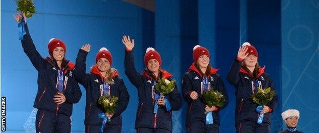Great Britain curling team