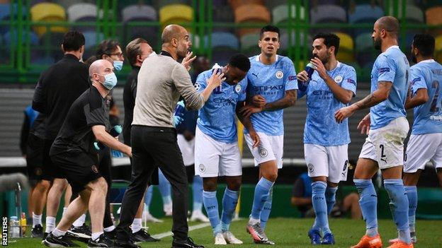 Manchester City This Season Has Simply Not Been Good Enough European Exit Reaffirms Faults BBC Sport