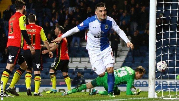 Blackburn Rovers 2-0 Birmingham City - BBC Sport