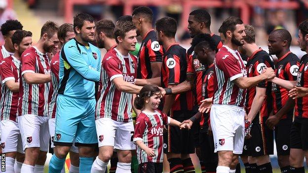 Exeter City have already played Premier League side AFC Bournemouth in pre-season