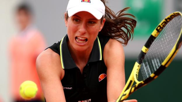 French Open 2019: Johanna Konta advances to second round for first time thumbnail