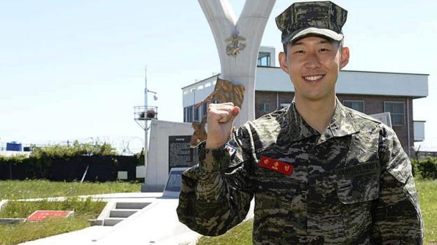 Son Heung-min: Tottenham forward wins award as South Korea military service ends thumbnail