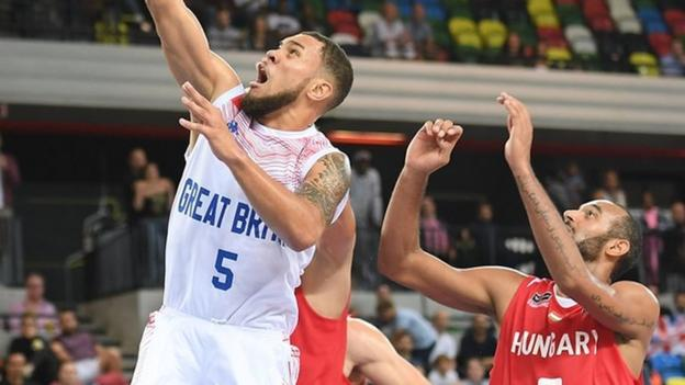 Eurobasket great britain lose 88 80 to hungary in group g - British basketball league table ...