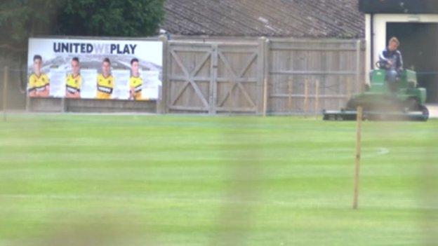 Oxford United training ground Cowley