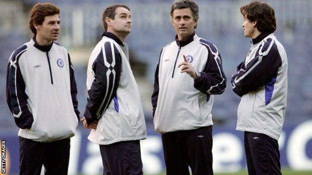 Andre Villas-Boas ve Jose Mourinho