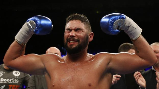 Tony Bellew: Liverpool boxer targets heavyweight title - BBC Sport
