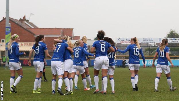 Women S Super League Everton Women P P Chelsea Women Bbc Sport