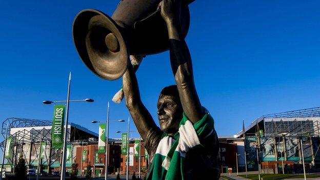 Lisbon Lions skipper Billy McNeill is commemorated in a statue outside Celtic Park
