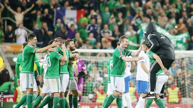 NI Euro 2016 qualifying