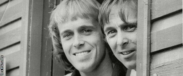 John and David Lloyd in 1980