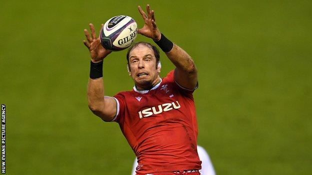 Wales captain Alun Wyn Jones has been part of five Six Nations winning sides
