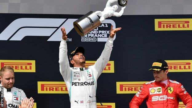 French GP podium
