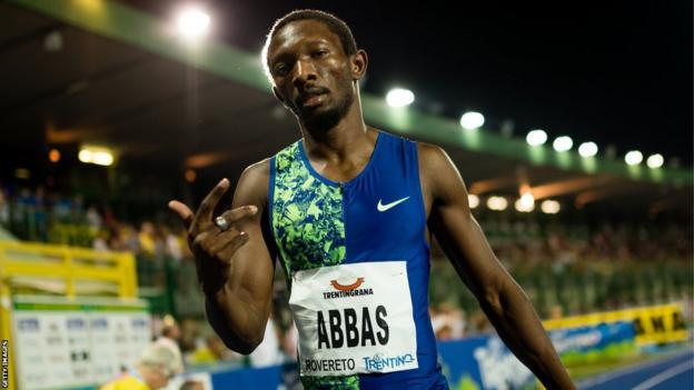 Nigeria-born Bahraini athlete Abbas Abubakar Abbas