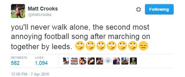 Matt Crooks on Twitter