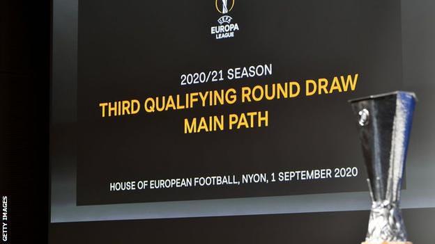 europa league draw tottenham face botosani or shkendija if they reach third qualifying round bbc sport europa league draw tottenham face