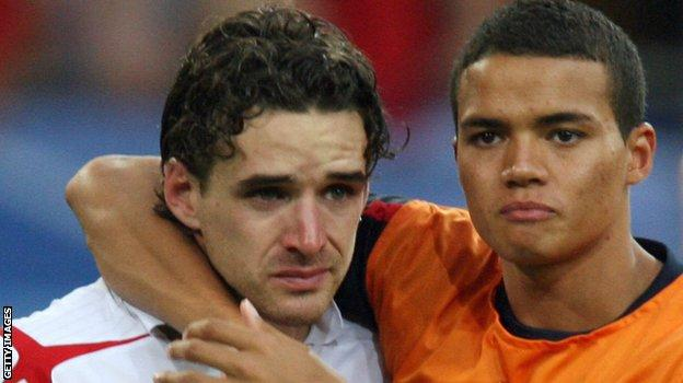 Jermaine Jenas and Owen Hargreaves