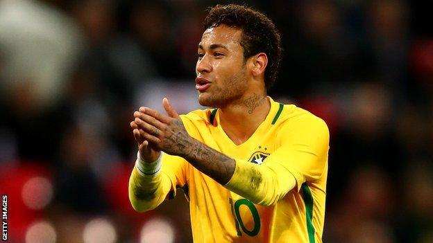 Brazil forward Neymar