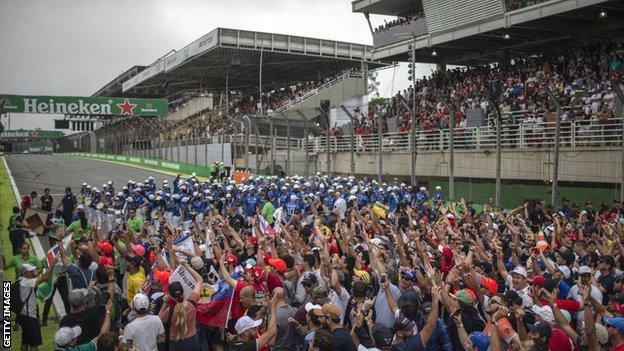 The Brazilian Grand Prix