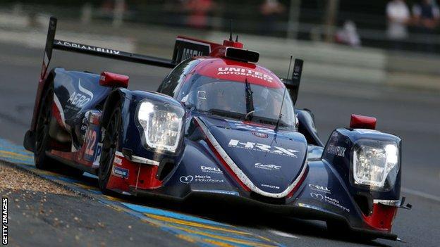 Di Resta and his team won the historic race at Circuit de la Sarthe
