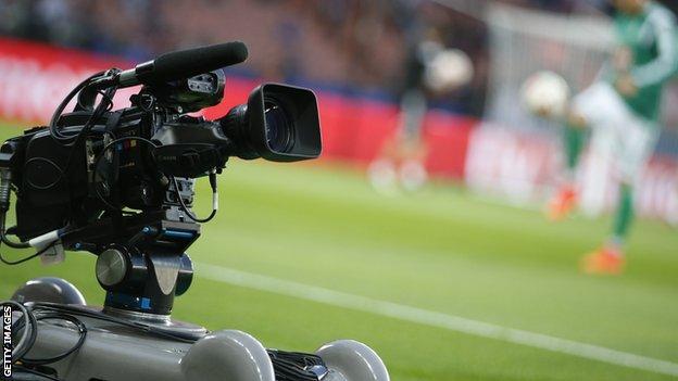 Remote cameras on tracks have improved TV coverage of football