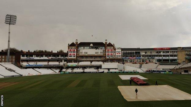 No play on the final day at The Oval