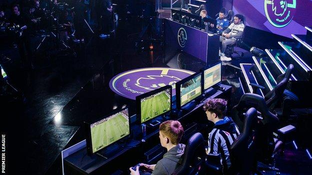 Players competing in the ePremier League