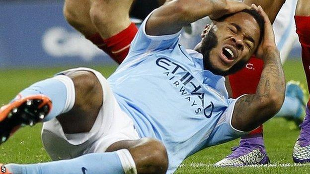 Sterling, 21, is City's second most expensive signing behind Kevin de Bruyne