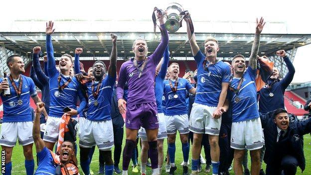 Hartlepool celebrate promotion