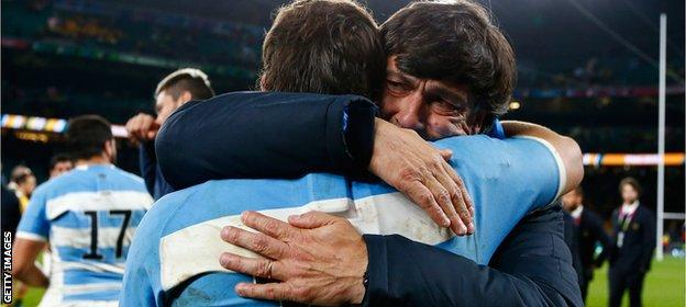 Argentina fail to reach Rugby World Cup final