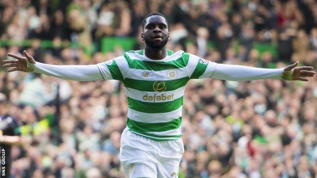 Odsonne Edouard scored 11 goals for Celtic last season