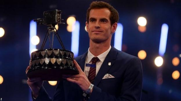 Andy Murray wins BBC Sports Personality of the Year for the second time