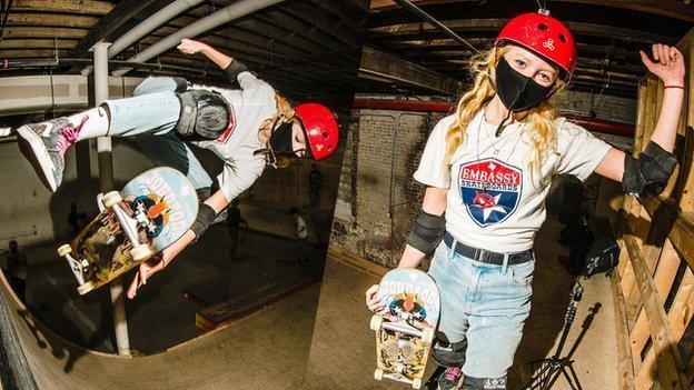 Olympic skateboarding: 'Fearless' teen Bombette Martin seeks 'dream' Tokyo place thumbnail